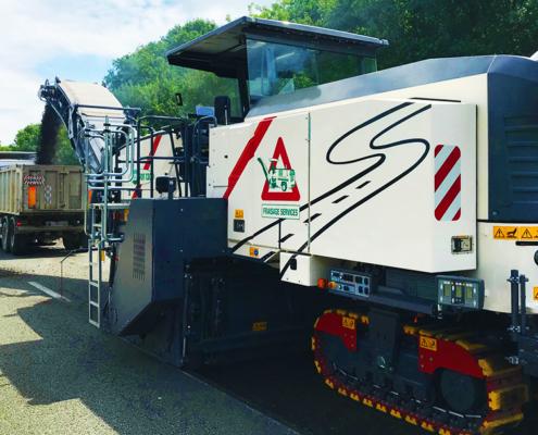 Fraiseuse W250I 3,80m Fraisage Services